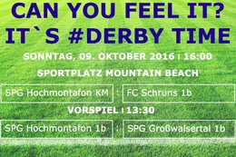 #DERBY TIME in der Innerfratte